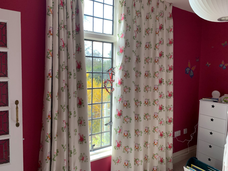 Children's Curtains - We have a beautiful selection of fabrics suitable for both nurseries and children's rooms