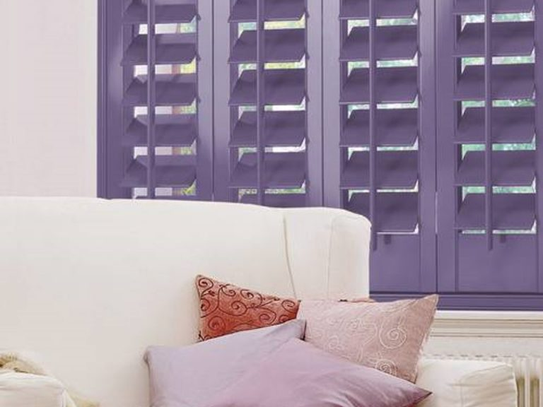 shutters coloured