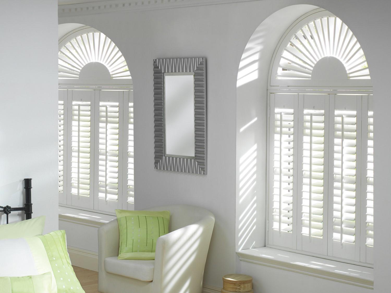 shutters shaped