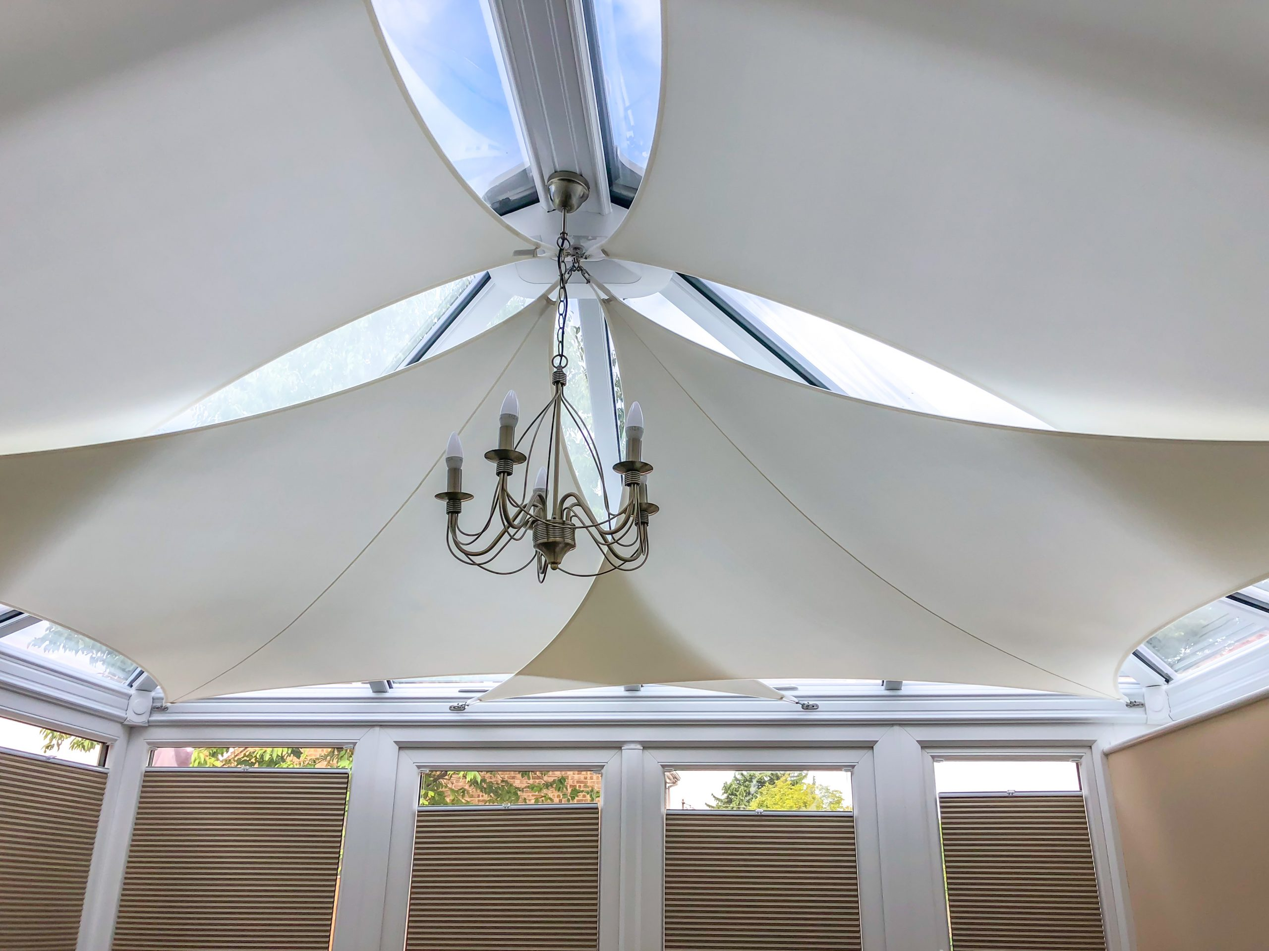 sail blinds conservatory